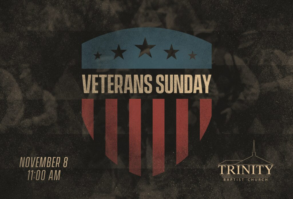 Veterans Sunday Banner